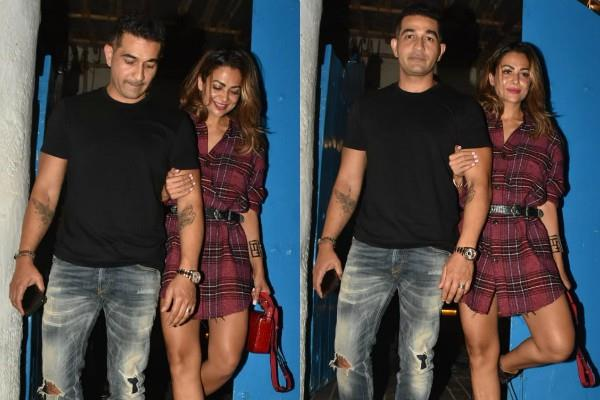 amrita arora attend dinner party with husband shakeel ladak