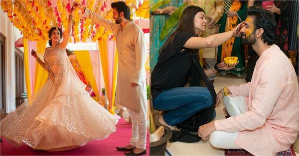 rajeev sen charu asopa haldi ceremony unseen pictures