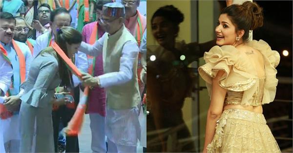 सपना चौधरी ने फाइनली ज्वाइन की BJP, जानिए कितनी पढ़ी-लिखी हैं हरियाणवी डांसर