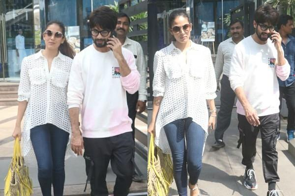 shahid kapoor and mira kapoor lunch date