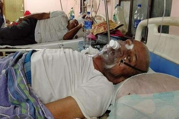 mice attack on unconscious cancer patient in icu