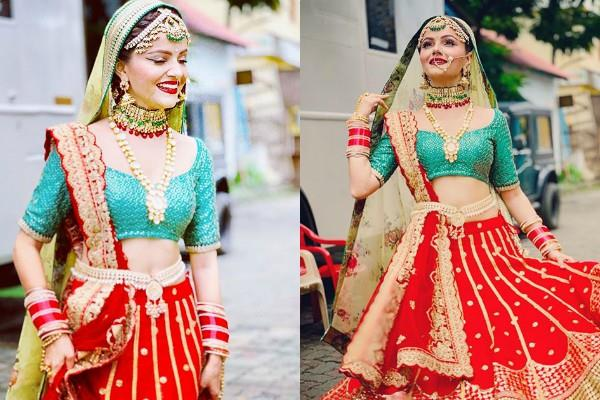 rubina dilaik bridal photoshoot