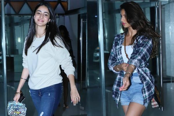 suhana khan outing with ananya pandey