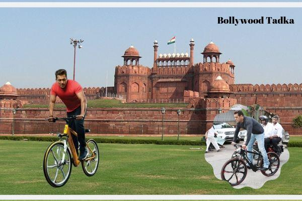 salman khan share cycling video on his social site
