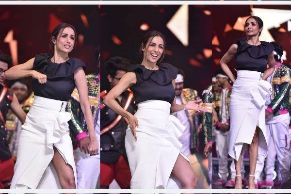malaika arora pics from dance india dance 7