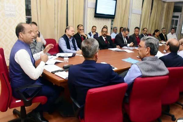 review meeting in shimla