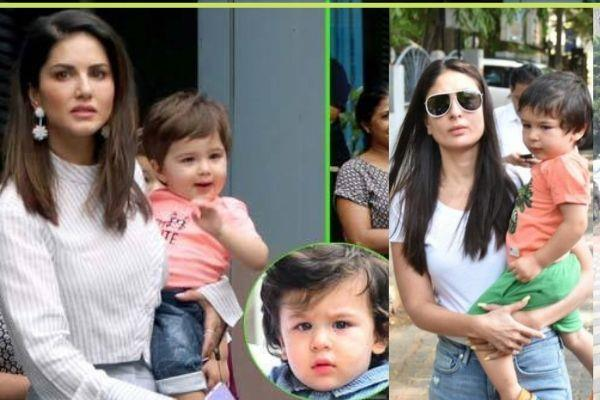sunny leony says about her son and taimur ali khan