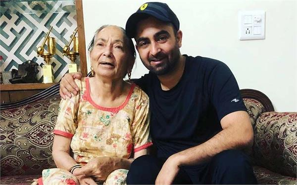 sharry mann mother death news