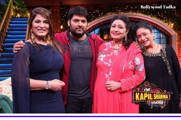 aruna irani and bindu at the kapil sharma show