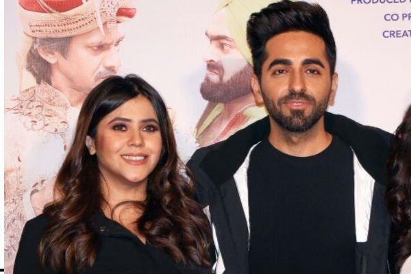 ekta kapoor saying about ayushmann khurrana roll in dreamgirl