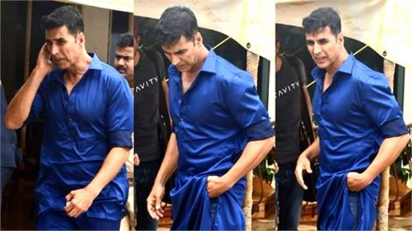 bollywood actor akshay kumar loss his weight
