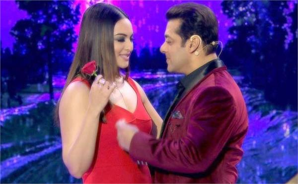 salman khan said to sonakshi sinha for loss her weight