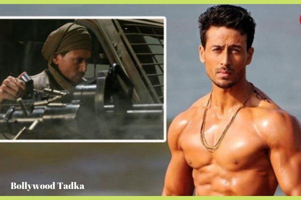 tiger shroff wields most powerful machine gun in war movie
