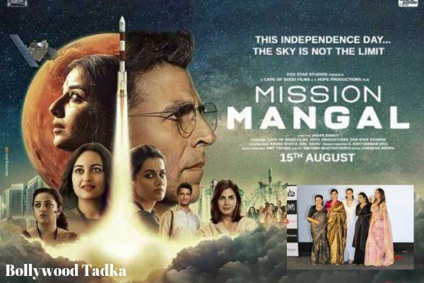 akshay kumar saying about his movie mission mangal actress