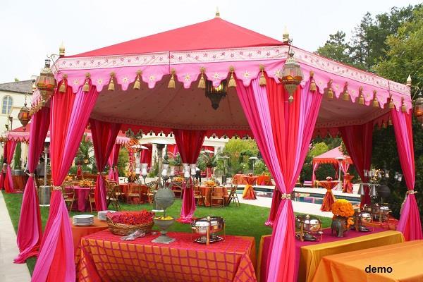 wedding ceremony dda s eye on tent mafia