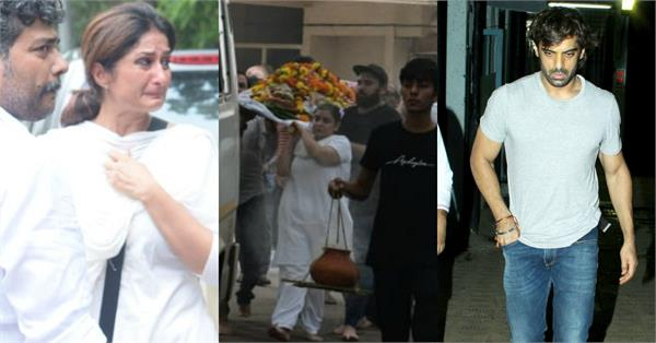 vidya sinha funeral stars bid final farewell to rajnigandha actress