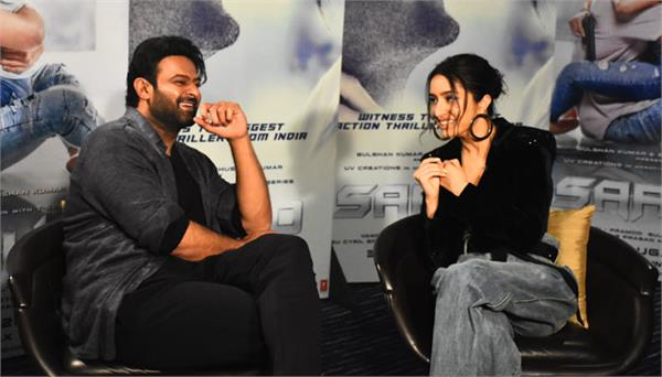 saaho starcast prabhas and shraddha kapoor exclusive interview