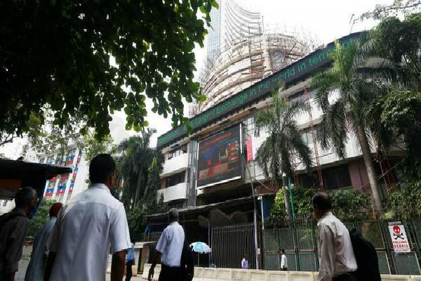 sensex gained 194 points and nifty opened at 11088