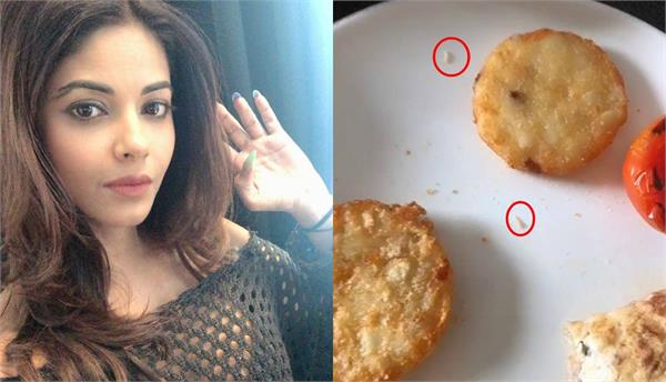 meera chopra got worm in her food staying in doubletree by hilton hotel