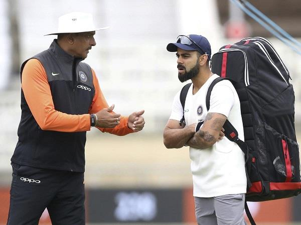 rohit did not get a place in playing xi fans troll shastri kohli fiercely