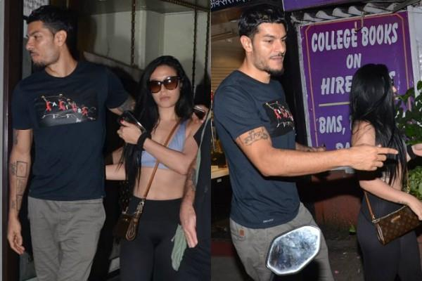 jackie shroff daughter krishna shroff spotted at restaurant with mystery boy