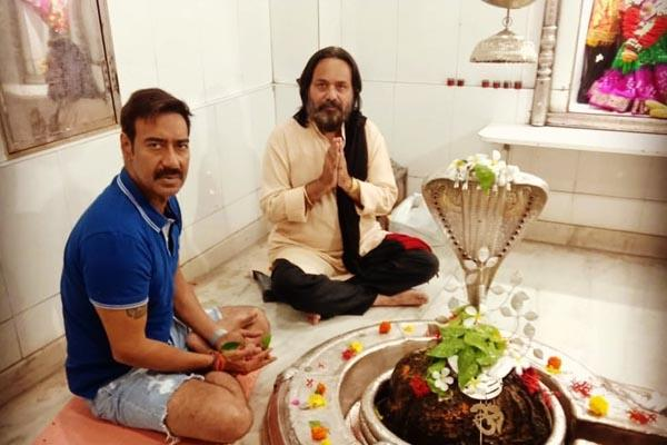ajay devgn trolled on social media after wearing shorts to temple