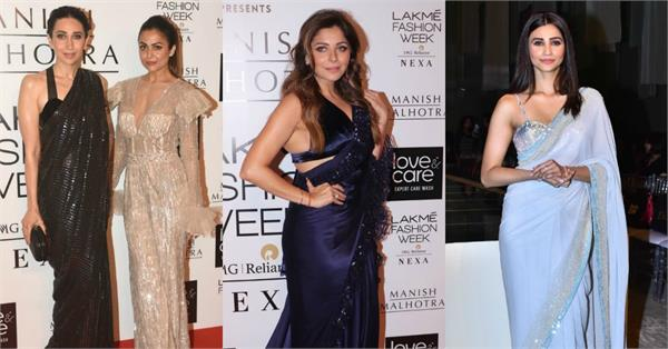 karisma kapoor kanika kapoor and other star attend lakme fashion week 2019
