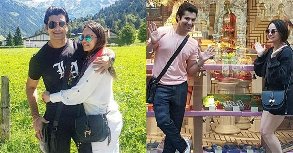 sharad malhotra spend quality time with wife ripci bhatia in europe