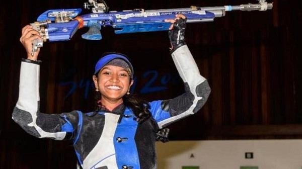 valarivan s big feat on national sports day gold won in shooting world cup