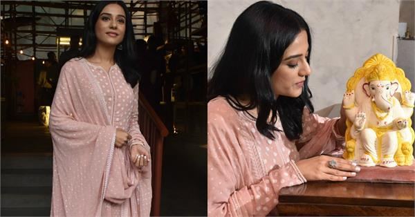 amrita rao at launch of eco friendly ganpati bappa morya
