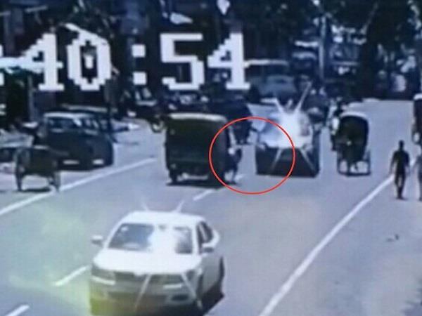viral neetu shatran wala daughter accident video