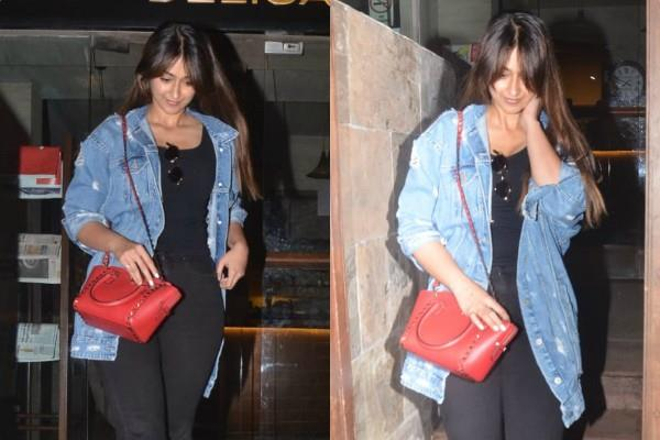 ileana d cruz spotted outside the indigo delicatessen at bandra