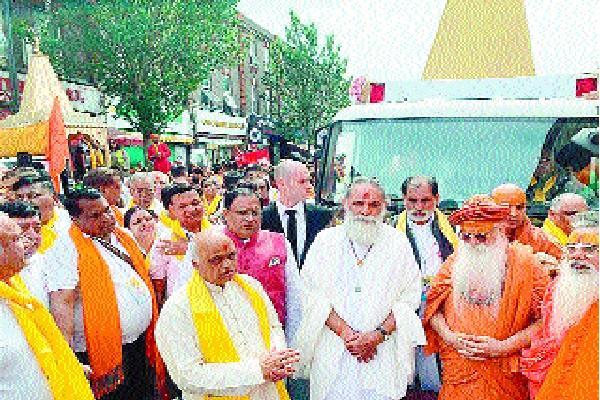 international geeta jayanti festival concludes with shobha yatra in london