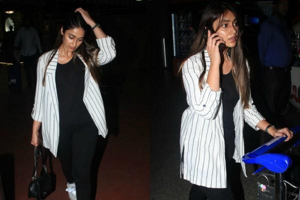ileana d cruz spotted at mumbai airport