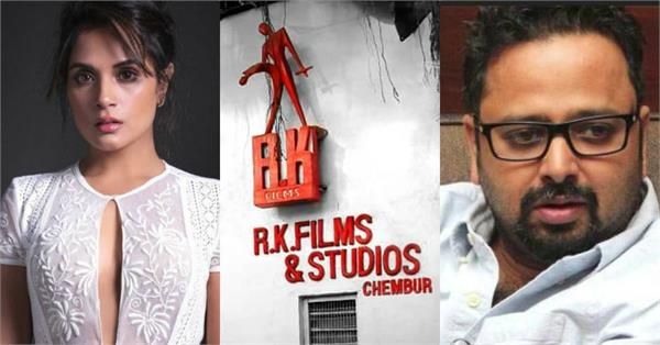 richa nikkhil advani other stars express grief as the rk studio is grounded