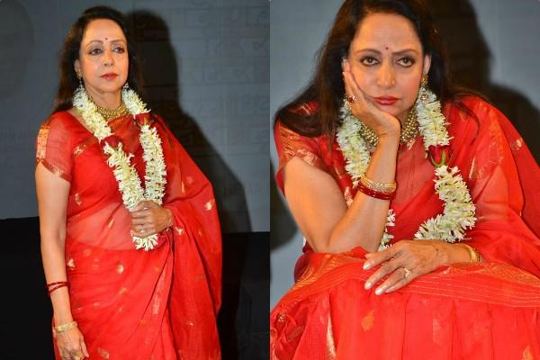 hema malini at the launch event of harekrishna mantra music album