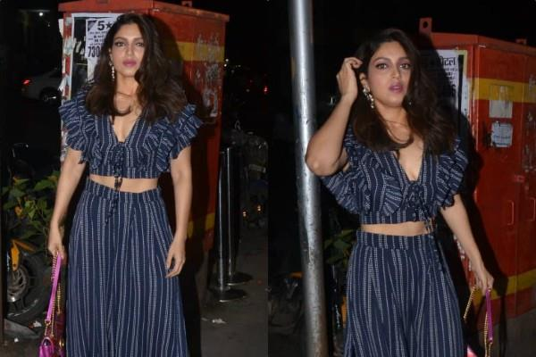 bhumi pednekar at bastian in bandra