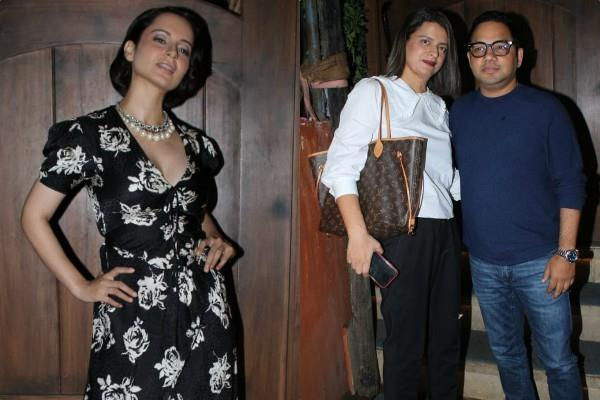kangana ranaut hosts a success bash of judgementall hai kya