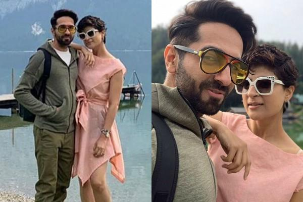 ayushmann khurrana enjoy holiday in austria with wife tahira kashyap
