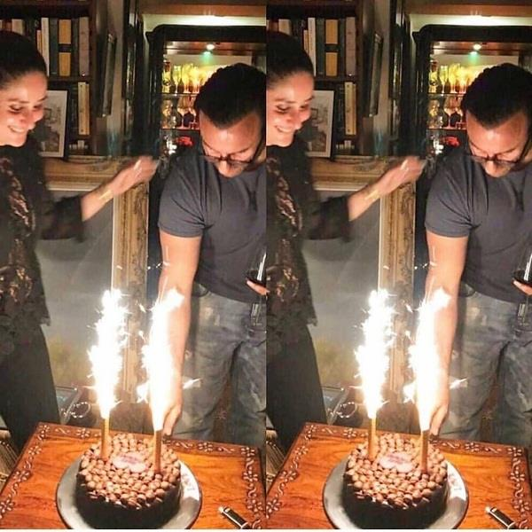 saif ali khan celebrate his birthday with family in england