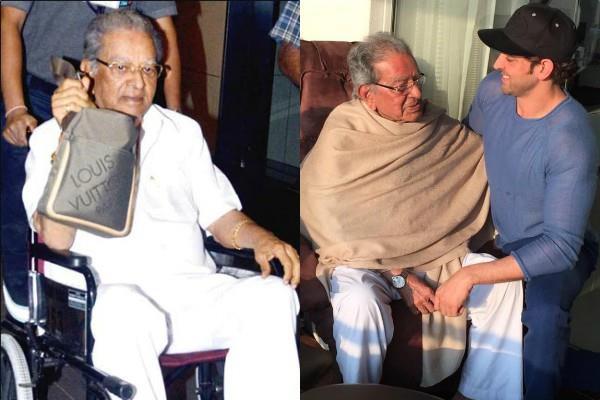 hrithik roshan grandfather passed away