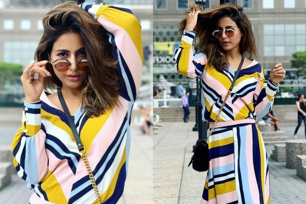 hina khan newyork vacation pictures