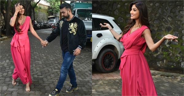 shilpa shetty latest pictures with hubby raj kundra