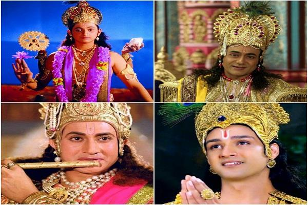 know the intresting fact of famous television faces of krishna