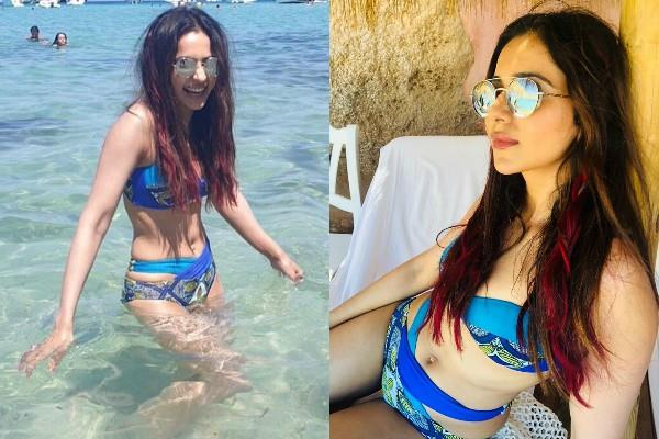 rakul preet singh enjoys vacations at ibiza