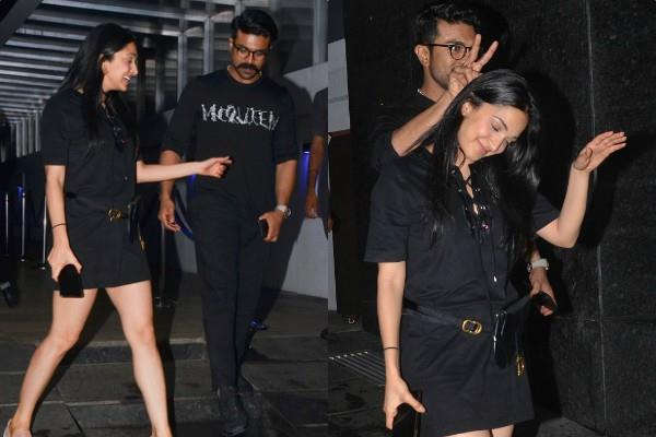 after birthday celebration kiara advani spotted with south actor ram charan