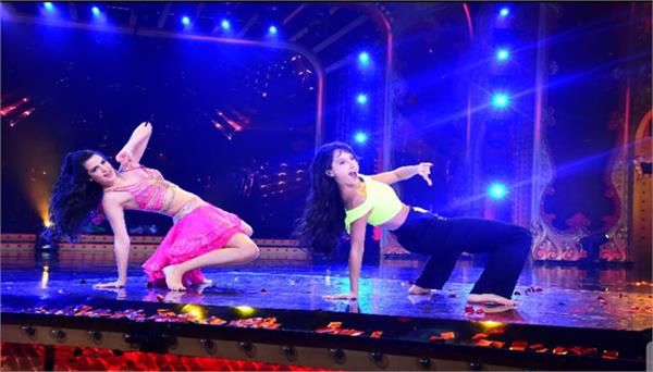 nach baliye season 9 rocked the sets by natasha stankoviok and nora fatehi