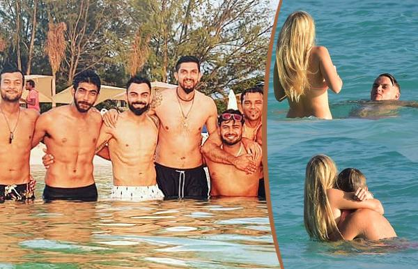 virat kohli enjoys stunning day at beach with boys ahead of west indies tests