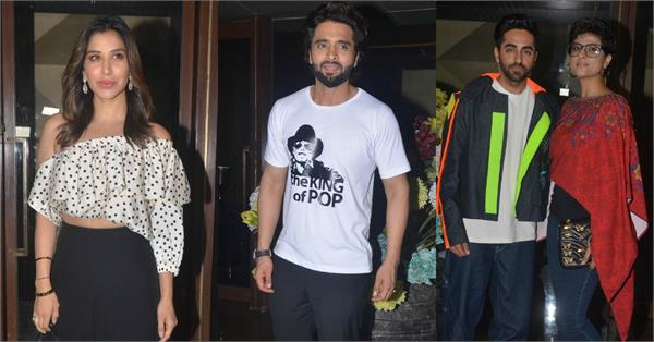 celebs at jackky bhagnani music label launch