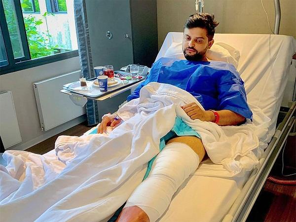 raina revealed on knee injury the decision to get surgery not easy